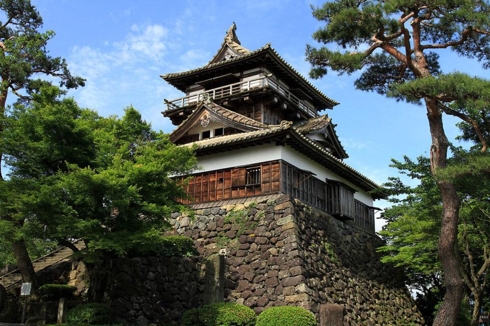 Castelli originali del Giappone