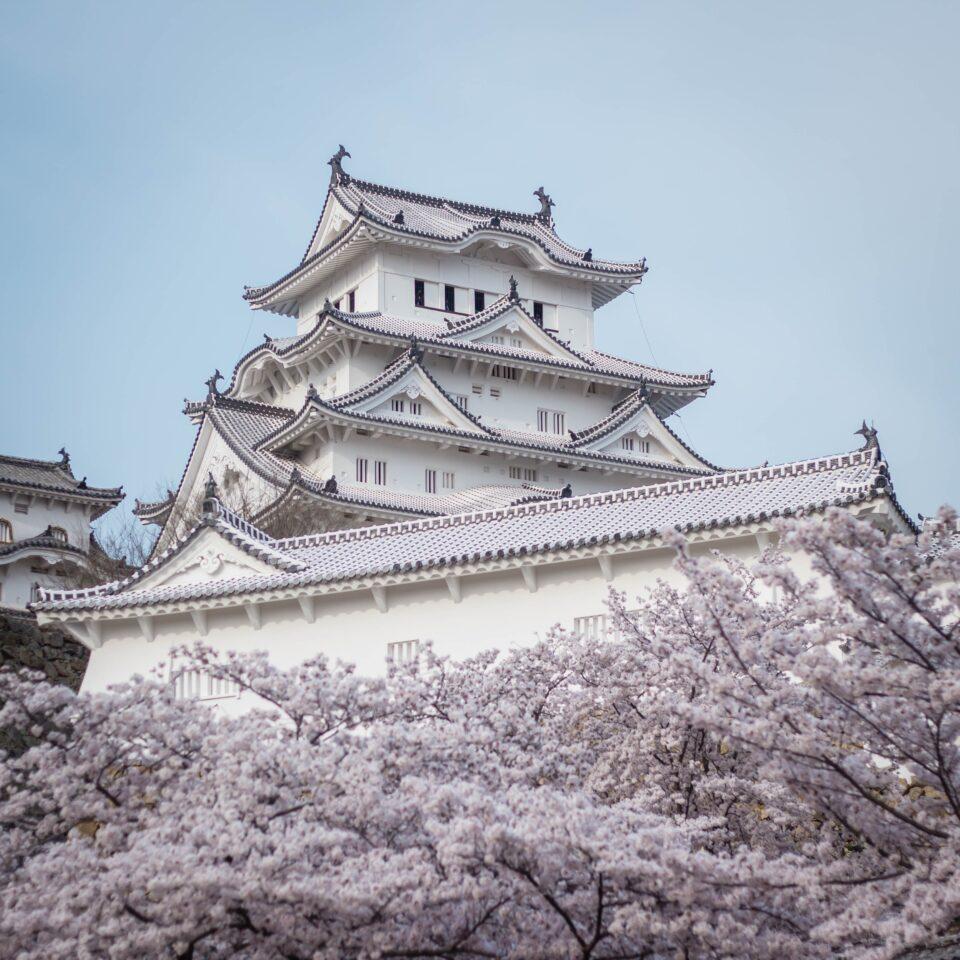 Castello di Himeji in Giappone
