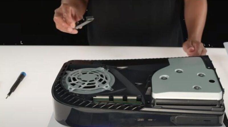 Espandere la memoria con la SSD sulla PS5. Il nuovo aggiornamento